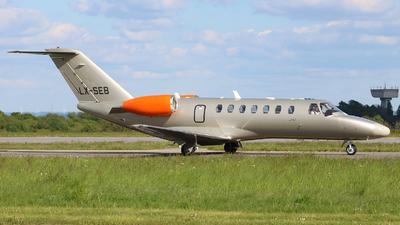 LX-SEB - Cessna 525B CitationJet 3 - Jetfly Aviation