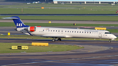 OY-KFE - Bombardier CRJ-900LR - Scandinavian Airlines (SAS)