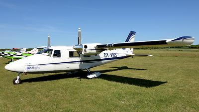 OY-VNS - Vulcanair P-68 Observer 2 - Bio flight