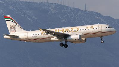 A picture of A6EIQ - Airbus A320232 - Etihad Airways - © George Chaidaris