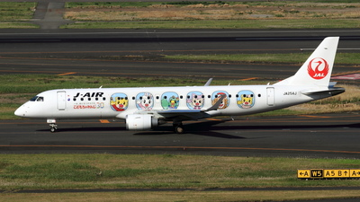 JA254J - Embraer 190-100STD - J-Air
