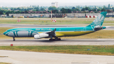 9Y-TJN - Airbus A340-313 - BWIA West Indies Airways