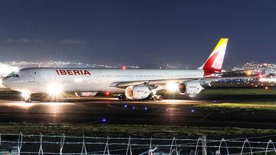 EC-IZY - Airbus A340-642 - Iberia