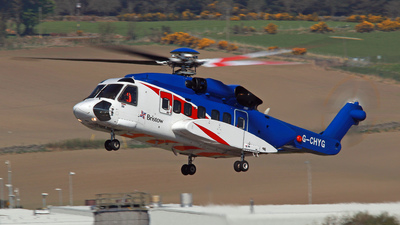 A picture of GCHYG - Sikorsky S92A Helibus - Bristow Helicopters - © Tartanpics