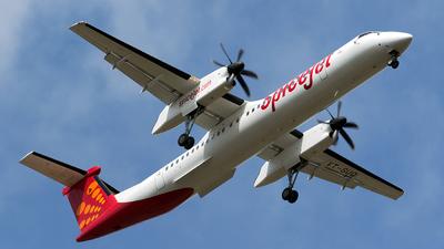 A picture of VTSUQ - De Havilland Canada Dash 8400 - SpiceJet - © Sriram Hariharan