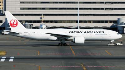 A picture of JA710J - Boeing 777246(ER) - Japan Airlines - © tomobile