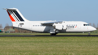 EI-RJD - British Aerospace Avro RJ85 - Air France (CityJet)