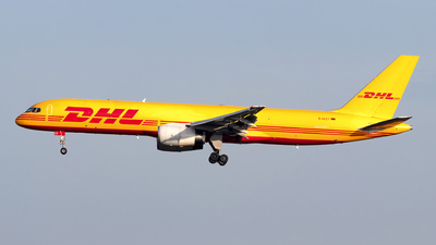 A picture of DALET - Boeing 75728A(PCF) - DHL - © Julian Azeroth