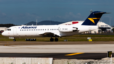 VH-QQV - Fokker 70 - Alliance Airlines