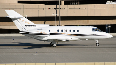 N1989D - Raytheon Hawker 800XP - Private