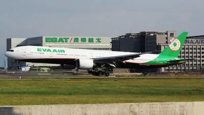 B-16732 - Boeing 777-36NER - Eva Air