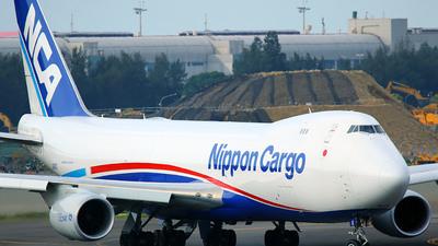 JA16KZ - Boeing 747-8KZF - Nippon Cargo Airlines (NCA)