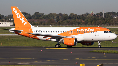 A picture of GEZBD - Airbus A319111 - easyJet - © Oliver Sänger