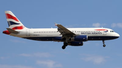 G-EUYC - Airbus A320-232 - British Airways