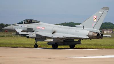 ZJ942 - Eurofighter Typhoon FGR.4 - United Kingdom - Royal Air Force (RAF)