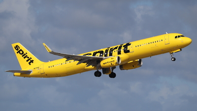 A picture of N678NK - Airbus A321231 - Spirit Airlines - © Andriy Yegorov