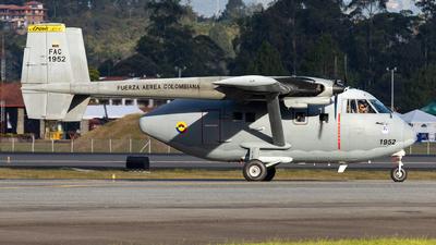 FAC1952 - IAI Arava 201 - Colombia - Air Force