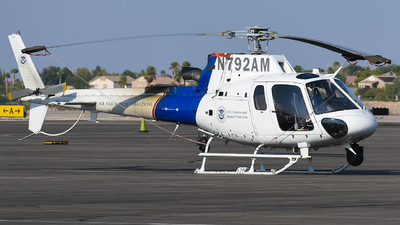 N792AM - Airbus Helicopters H125 - United States - US Department Of Homeland Security