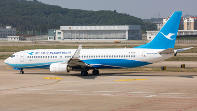 A picture of B5319 - Boeing 7378FH - Xiamen Air - © Yan Shuai