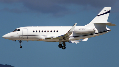 N75EK - Dassault Falcon 2000EX - Private