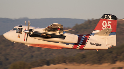 N448DF - Grumman S-2F3AT Turbo Tracker - United States - California Department of Forestry