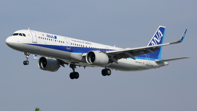 A picture of JA136A - Airbus A321272N - All Nippon Airways - © Tokubee