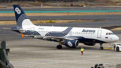 A picture of VPBDM - Airbus A319111 - Aurora - © Isaac Apolinario ( Walkure_Aviation)