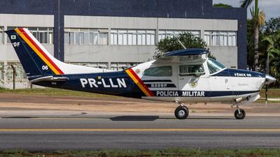 PR-LLN - Cessna T210N Turbo Centurion II - Brazil - Military Police