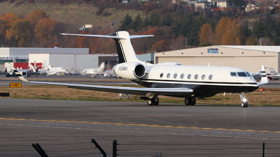 N288WK - Gulfstream G650ER - Private