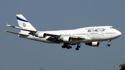 4X-ELH - Boeing 747-412 - El Al Israel Airlines