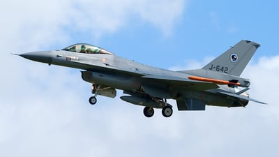 J-642 - General Dynamics F-16AM Fighting Falcon - Netherlands - Royal Air Force
