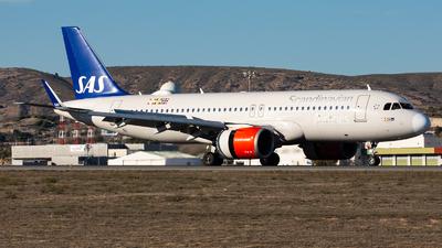 A picture of EISIE - Airbus A320251N - SAS - © Fryderyk Kastelnik/ Fred Aviation