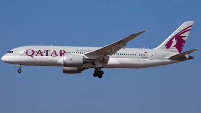 A picture of A7BDB - Boeing 7878 Dreamliner - Qatar Airways - © Fabian Wlasak