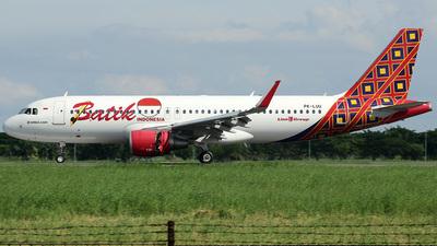 PK-LUU - Airbus A320-214 - Batik Air