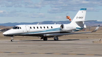 C-GHCV - Cessna 680 Citation Sovereign - Private