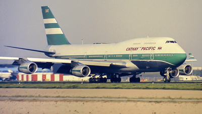 VR-HOR - Boeing 747-467 - Cathay Pacific Airways