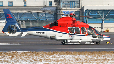 PH-EUB - Eurocopter EC 155B1 - Heli Holland