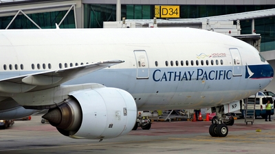 B-HNP - Boeing 777-367 - Cathay Pacific Airways