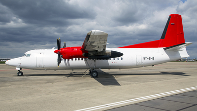 5Y-SMS - Fokker 50 - Skyward Express