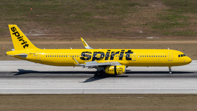 N657NK - Airbus A321-231 - Spirit Airlines