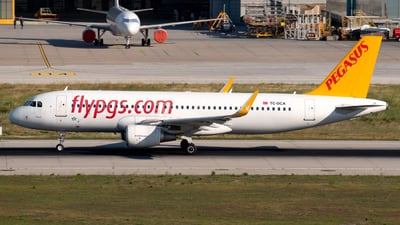 A picture of TCDCA - Airbus A320214 - Pegasus Airlines - © Kuzey Alan