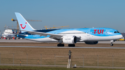 A picture of GTUIF - Boeing 7878 Dreamliner - TUI fly - © Lars Kämena
