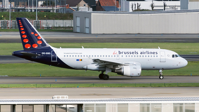 A picture of OOSSO - Airbus A319111 - Brussels Airlines - © Sebastian Thiel