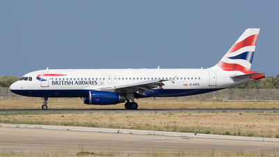 G-GATL - Airbus A320-232 - British Airways