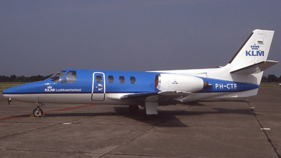 PH-CTF - Cessna 500 Citation - KLM Flight Academy