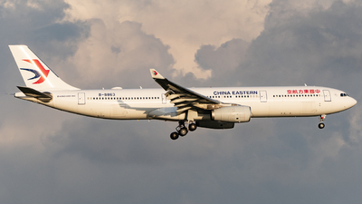 A picture of B8863 - Airbus A330343 - China Eastern Airlines - © KirkXWB