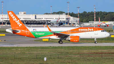 OE-IVV - Airbus A320-214 - easyJet Europe