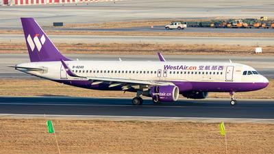 B-8249 - Airbus A320-214 - West Air