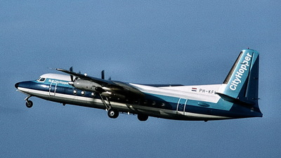 PH-KFL - Fokker F27-500RF Friendship - NLM CityHopper