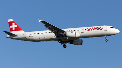 A picture of HBIOC - Airbus A321111 - Swiss - © PM
